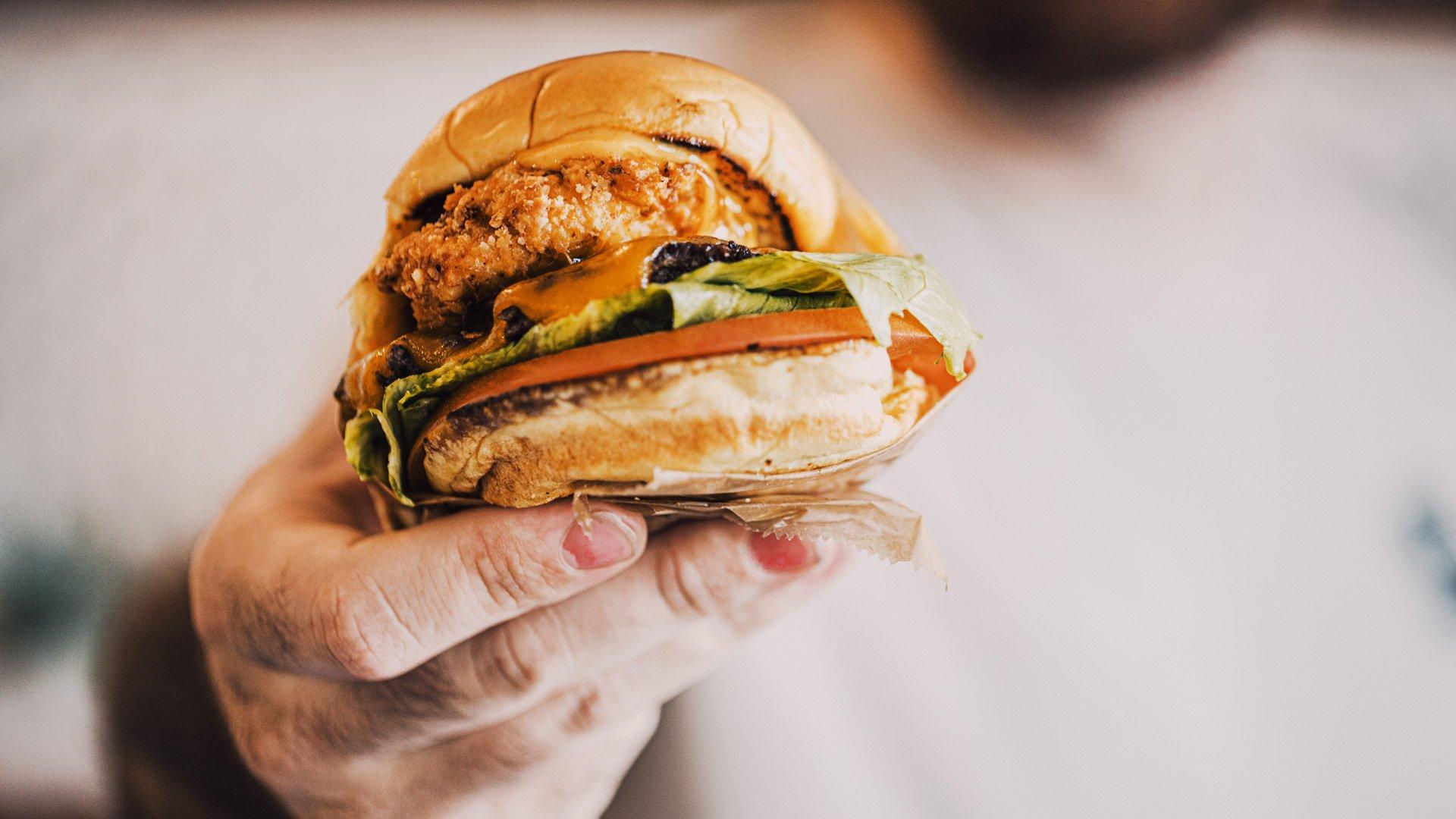 Samburger at Mess Hall Wilmington
