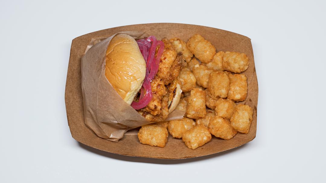 Mess Hall Chicken Sandy Sandwich in Wilmington, NC